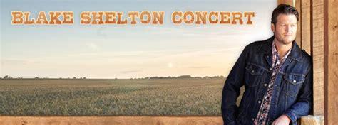 blake shelton sioux falls blake shelton concert big country 92 5 ktwb sioux