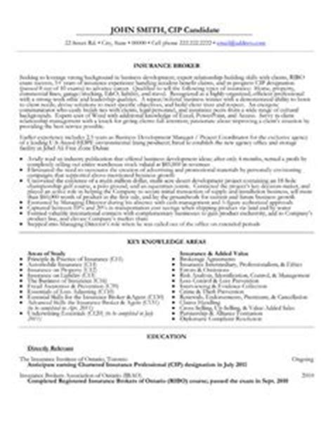 Sle Property Casualty Underwriter Resume by Property And Casualty Insurance Underwriter Resume