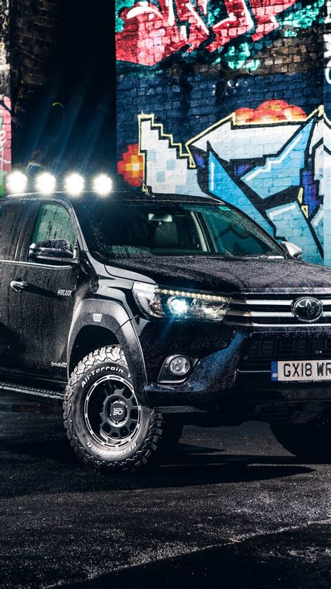 Toyota Hilux 4k Wallpapers by Toyota Hilux Arctic Truck 2018 Free 4k Ultra