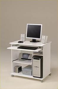 Petit Meuble Pour Ordinateur Portable Bureau Multimedia