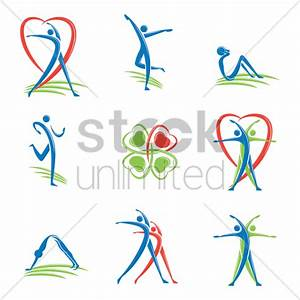 Fitness logo Vector Image - 1511666 | StockUnlimited
