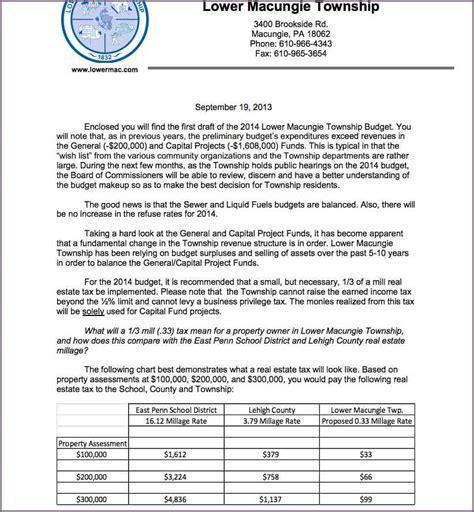Budget Proposal Letter Sample Proposalsampleletter