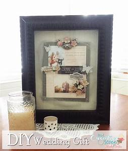 easy diy wedding gift my creative scoop With homemade wedding gift ideas