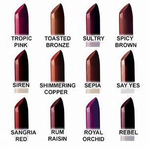 T Bar Size Chart Fashion Fair Lipstick Boscov 39 S