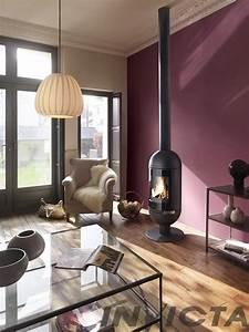 les 25 meilleures idees concernant mur avec poele a bois With couleur bois de rose peinture 0 les 25 meilleures idees concernant murs bordeaux sur