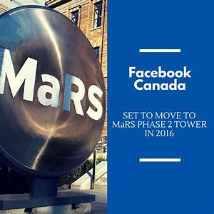 Facebook Canada Moving to MaRS Tower