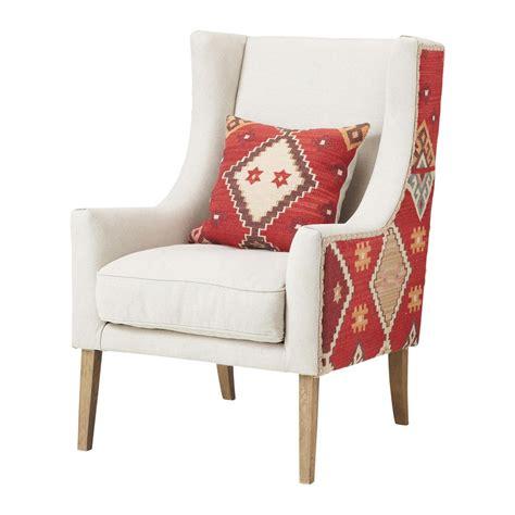 fauteuil de salon fauteuil de salon motifs maisons du monde