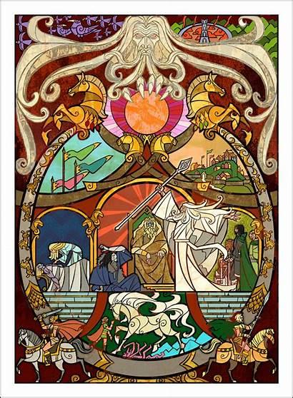 Jian Guo Tolkien Rings Lord Ill