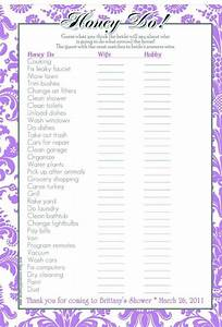 Bridal shower to do list template 99 wedding ideas for What to do at a wedding shower