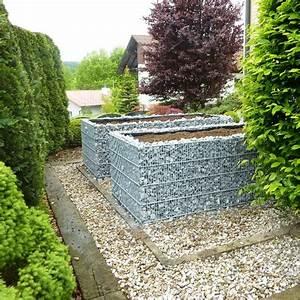Hochbeet Aus Gabionen : triooo hochbeet gabione 250 x 120cm verzinkt stonewall24 ~ Orissabook.com Haus und Dekorationen