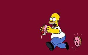 homer simpson donuts the simpsons 1440x900 wallpaper High ...