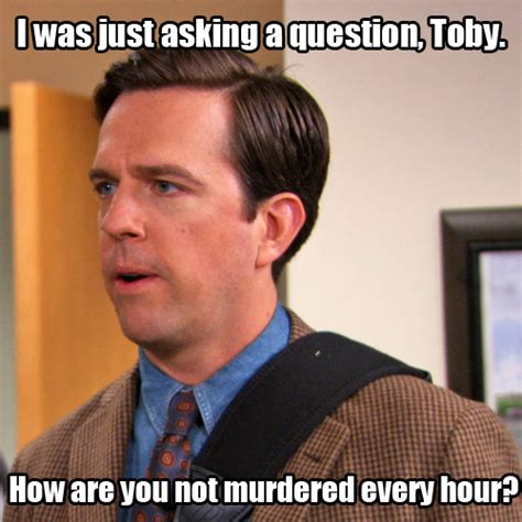 toby  office quotes quotesgram