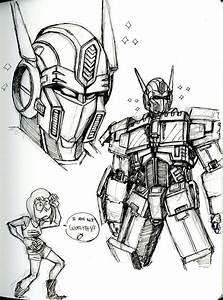 MoleSkin Optimus Prime Sketch by RINPIN on DeviantArt