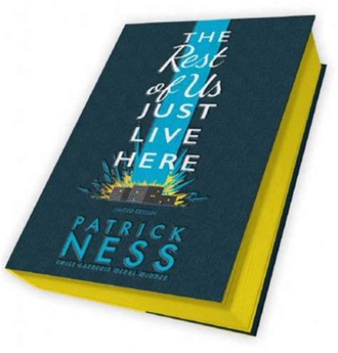 The Rest Of Us Just Live Here  Signed Exclusive Edition