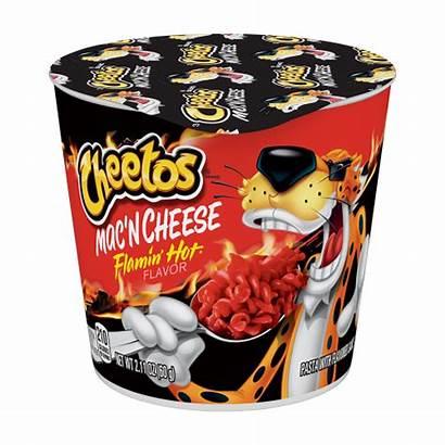 Cheetos Cheese Mac Flamin Cup Cups Box