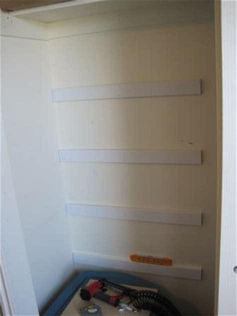 how to install closet storage shelves i am hardware