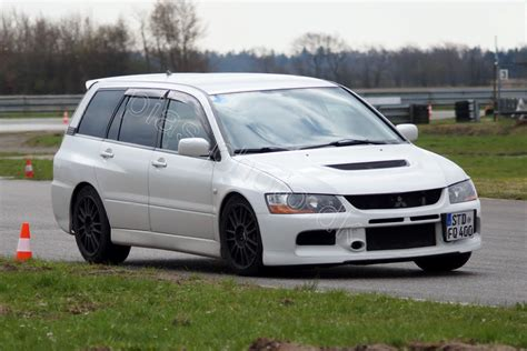 Mitsubishi Lancer Evolution Ix Wagon On Padborg Park