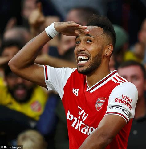 Arsenal 'hope strong relationship with Aubameyang's father ...