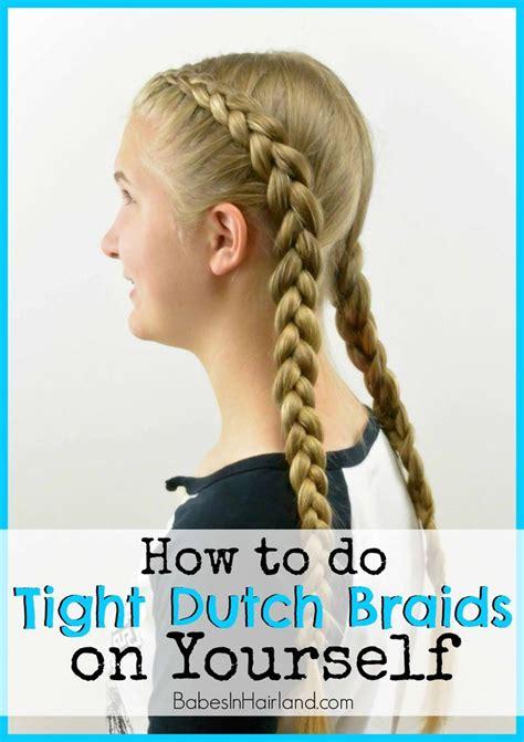 dutch braids ideas  pinterest double dutch