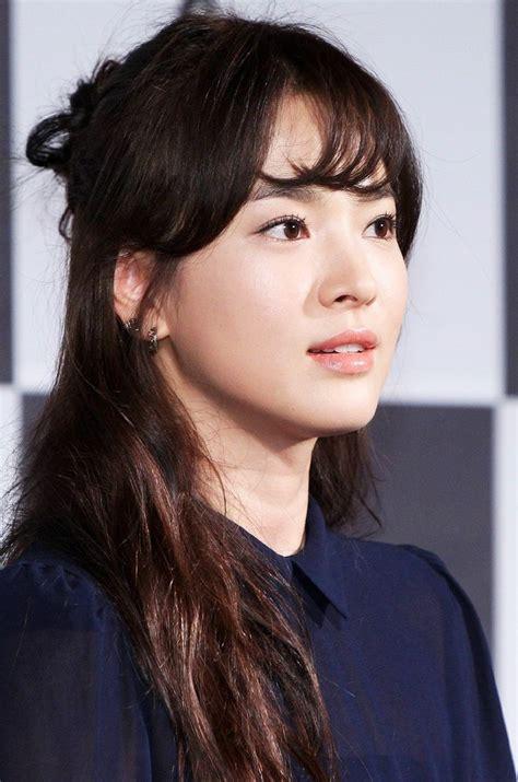Song Hye Kyo Hairstyle by Song Hye Kyo Hairstyle Fade Haircut