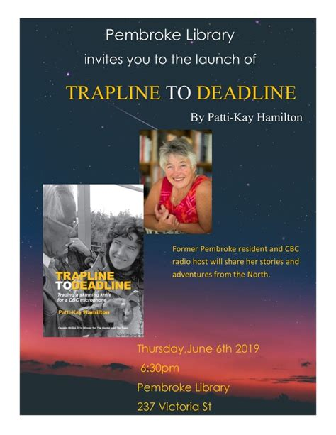 Local Author Patti-Kay Hamilton - Township of Laurentian ...