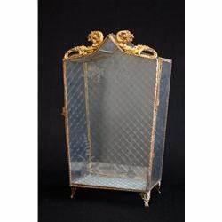 Vitrine Metall Glas : miniature glass metal vitrine cabinet ~ Whattoseeinmadrid.com Haus und Dekorationen