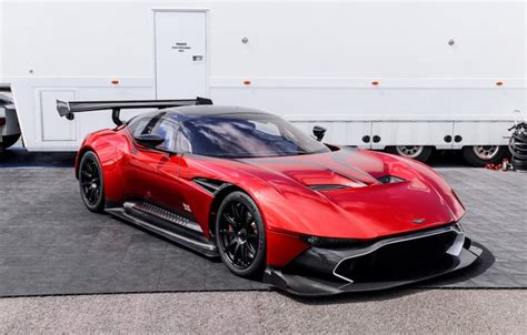 Wallpaper Red, Aston Martin, Vulcan, Wagon Images For
