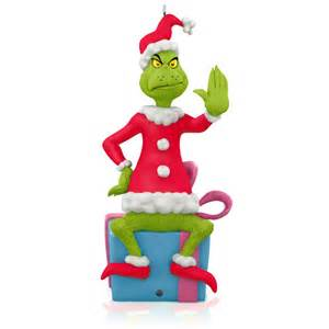 dr seuss how the grinch stole christmas grinch peekbuster ornament christmas ornaments