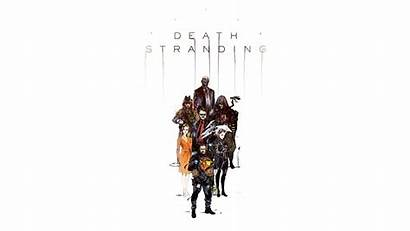 4k Stranding Death Characters Widescreen Aspect Ratio
