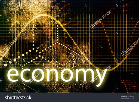 Abstract Economics Wallpaper by Economy Abstract Technology Concept Wallpaper Background