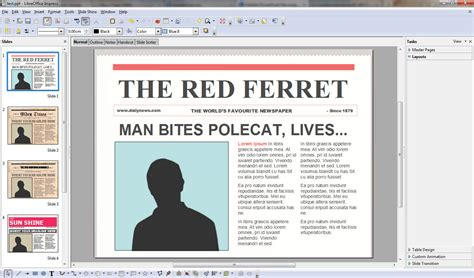 powerpoint newspaper templates turns