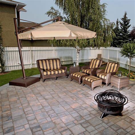 paving stone patios calgary landscaping company