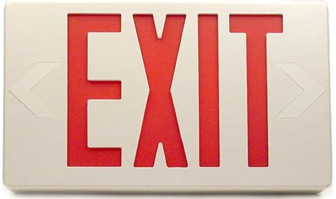 exit light enter if all enter and exit signs looked like this russel