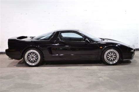 nsx honda 1991 rare black black auto 28k excellent right