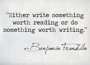 Writing Quotes - Writing Explained