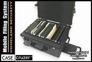 casecruzer mobile file cabinet pelican case protects With pelican document case