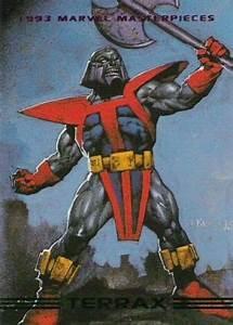 Terrax 1993 Marvel Masterpieces | Silver Surfer | Pinterest
