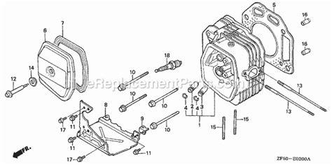 Honda Gxv Parts List Diagram Type Daet Vin