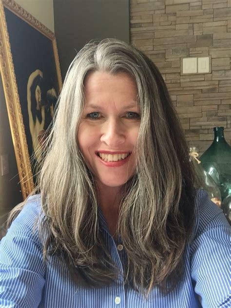 growing  gray hair  months april  growing