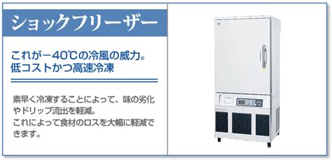 flash freezer home ショックフリーザーの特徴と実用例 flash freezer