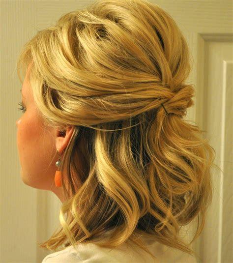 coiffure mariage invitée cheveux mi tuto coiffure mariage sur cheveux mi fashion designs