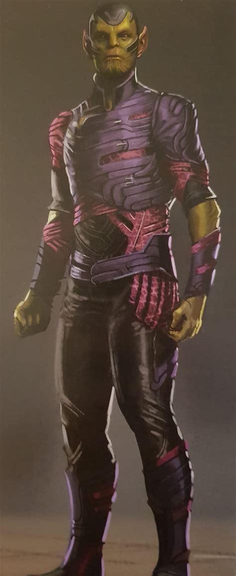 captain marvel concept art reveals  terrifying