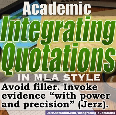 integrating quotes citing sources effectively  mla