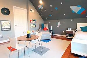 25, Cool, Kids, U2019, Bedrooms, That, Charm, With, Gorgeous, Gray