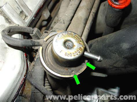 mercedes benz  fuel pressure regulator replacement