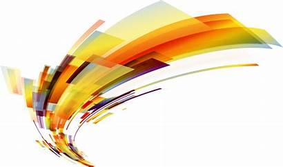 Abstract Lines Clipart Transparent Orange Golden Medal