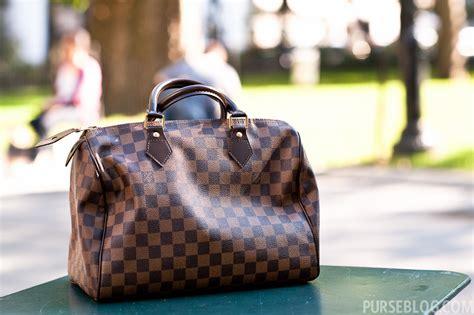 lv damier brown purseonals louis vuitton damier ebene speedy 30cm purseblog