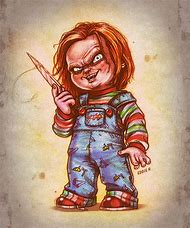 Good Guy Chucky Doll Drawing