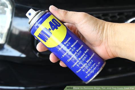 3 ways to remove bugs tar and sap from your car wikihow