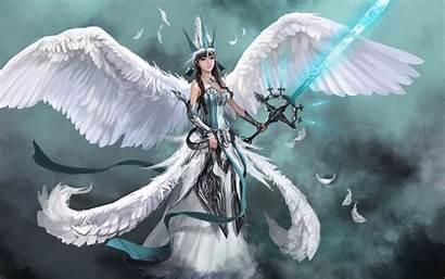 Warrior Angel Angels Fantasy Anime Wallpapers Warriors